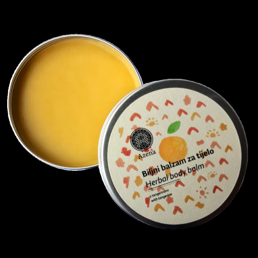 Biljni balzam za tijelo od tanerine