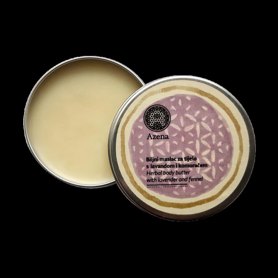 Biljni maslac za tijelo od lavande