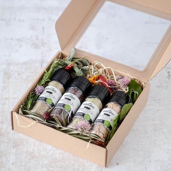 Aromatizirana sol - poklon paket mediteran maxi
