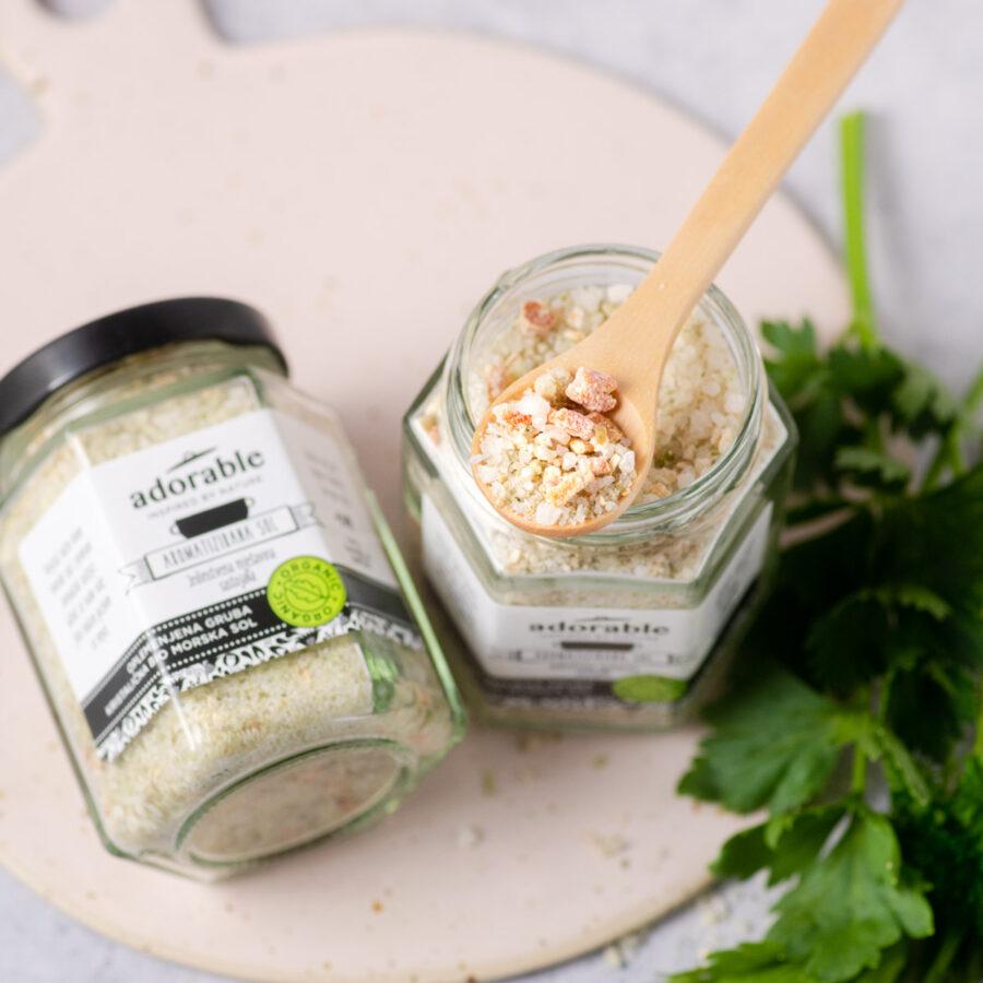 Aromatizirana sol s korjenastim povrćem