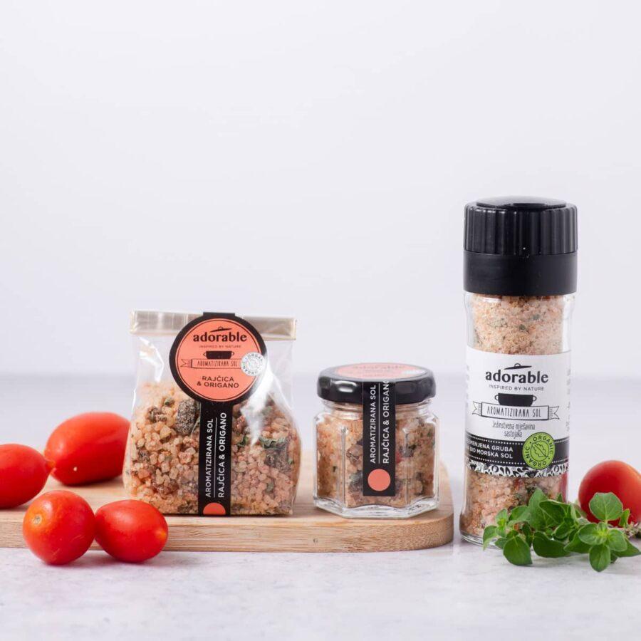 Aromatizirana sol s rajčicom i origanom