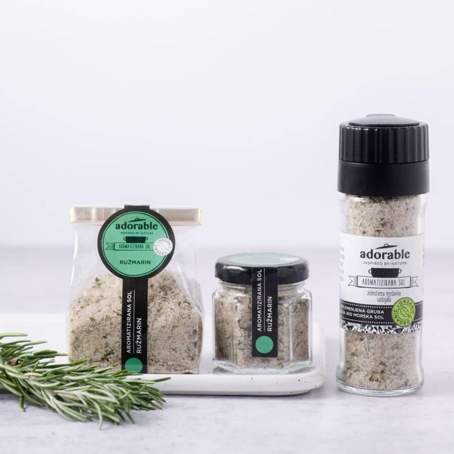 Aromatizirana sol s ružmarinom