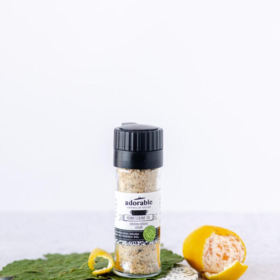 Aromatizirana sol sa smokvama i mandarinom