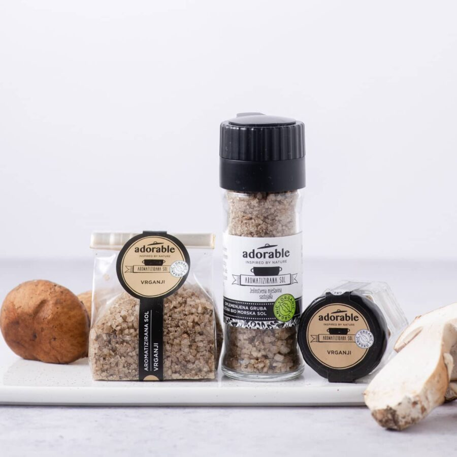 Aromatizirana sol s vrganjima