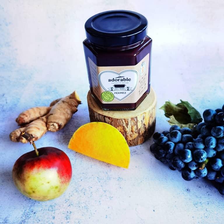 Pekmez od grožđa, jabuka, tikva i đumbira