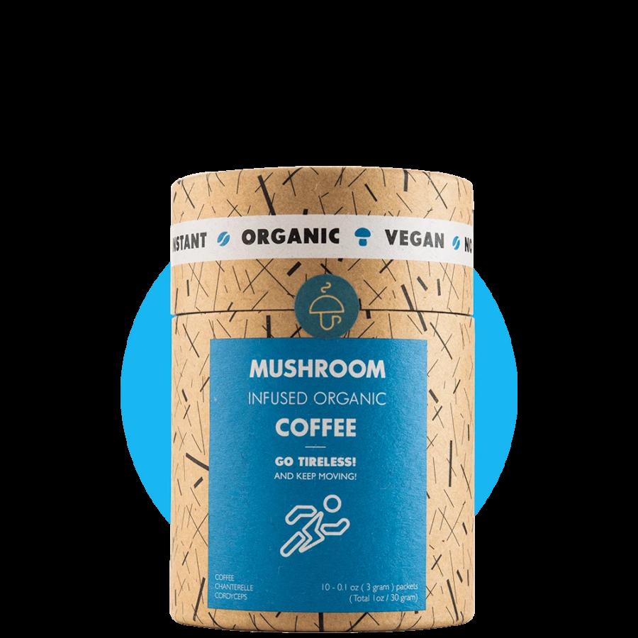 Organska kava s dodatkom gljiva