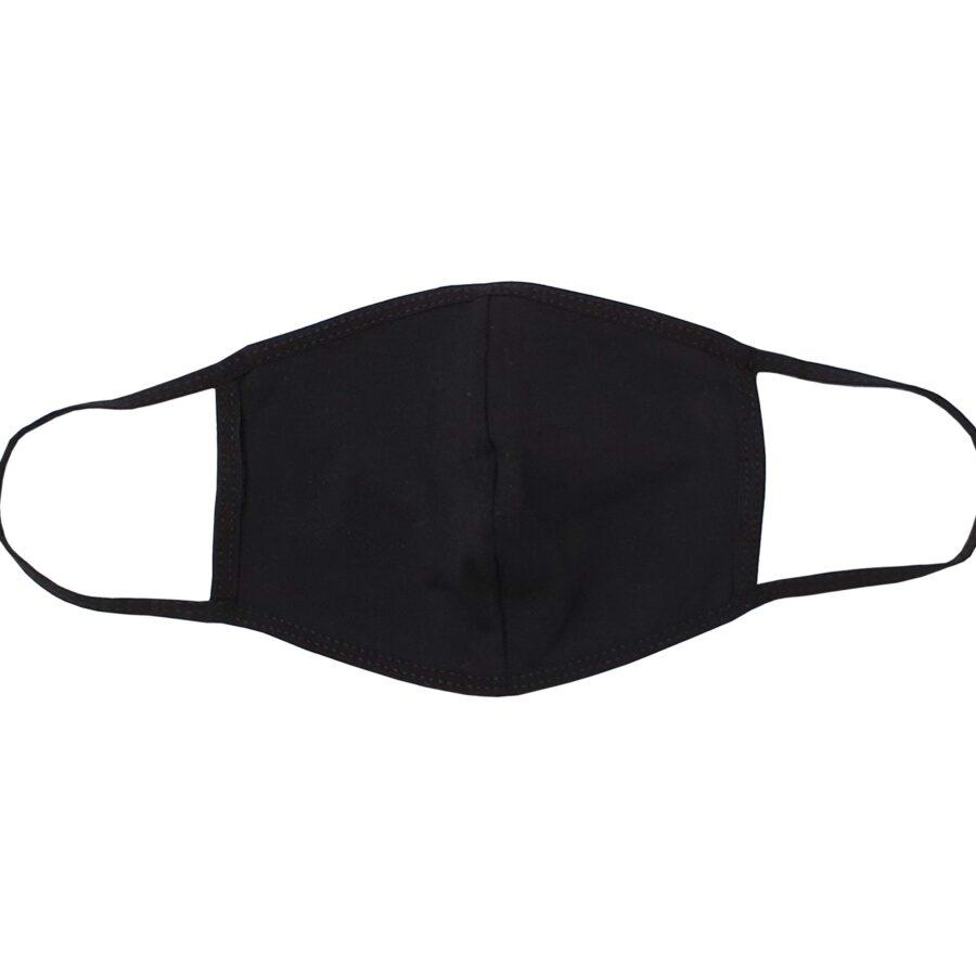 Pamčuna periva dvoslojna maska za lice - crna