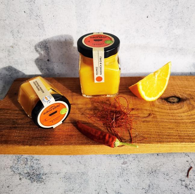 Prirodni pekmez od naranče i chilija - 195 ml
