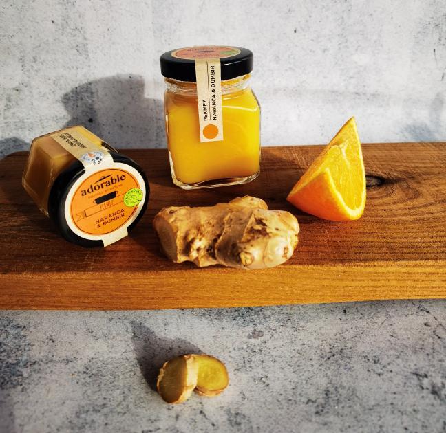 Prirodni pekmez od naranče i đumbira - 195 ml